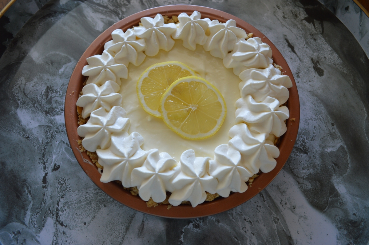 easy lemon iceboxpie